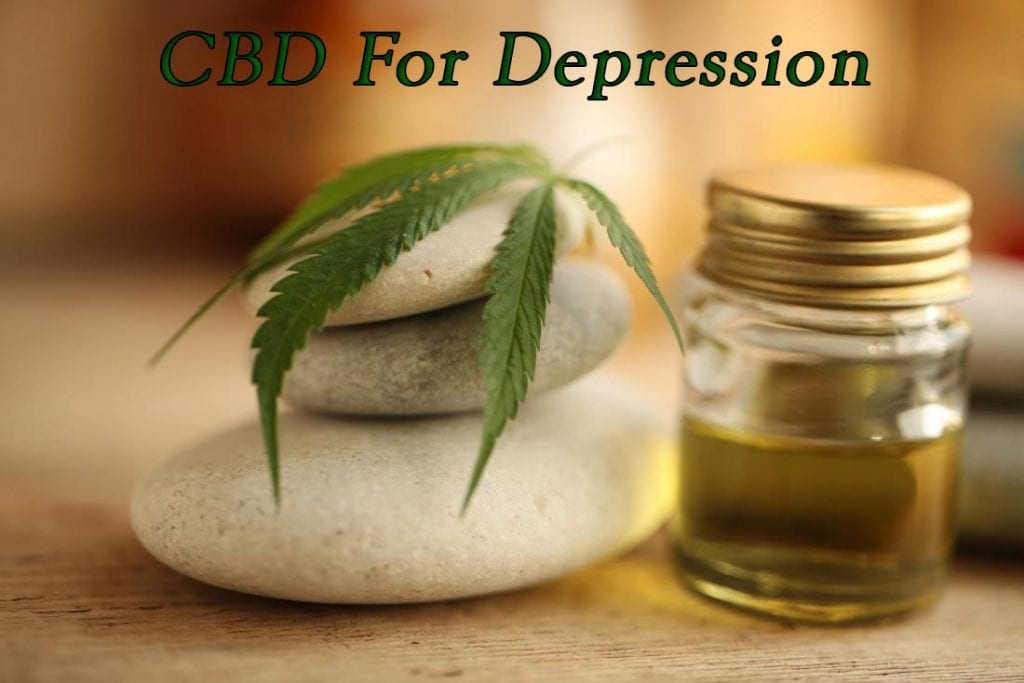 CBD For Depression, Stress, Anxiety
