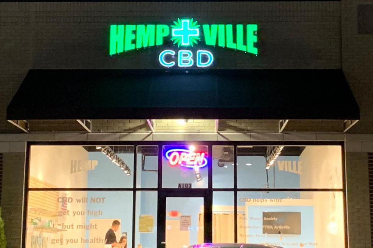 Hempville CBD Store Front
